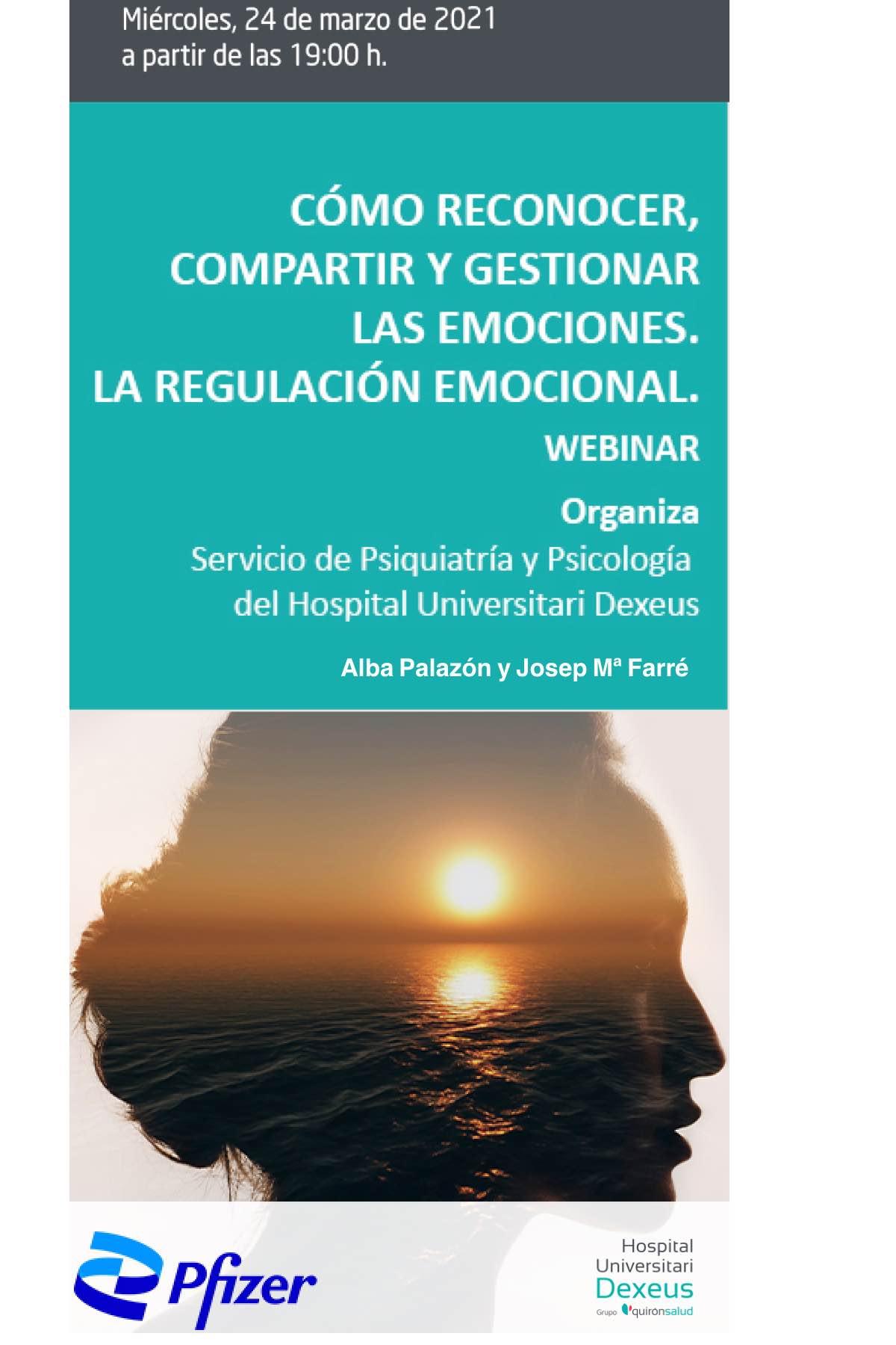 Como reconocer, compartir y gestionar las Emociones. La regulación emocional